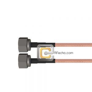 N Male to N Male RG-142 Coax and RoHS F061-291S0-291S0-125-N