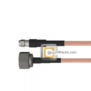 N Male to SMA Male RG-142 Coax and RoHS F061-291S0-321S0-125-N