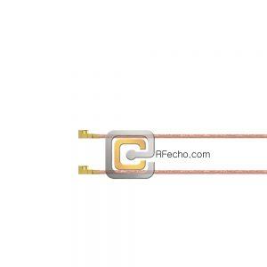 UMCX 2.5 Plug to UMCX 2.5 Plug RG178 Coax and RoHS F074-451S0-451S0-30-N