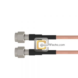 TNC Male to TNC Male RG-223 Coax and RoHS F064-411S0-411S0-110-N