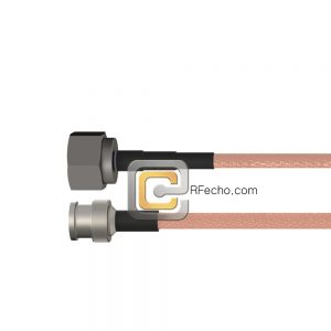 BNC Male to N Male RG-316 Coax and RoHS F065-221S0-291S0-30-N
